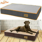Elastic Padded Pet Dog Bed Waterproof Mattress Pet Deep Sleeping Mat L-3XL Hot