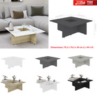 Modern Coffee Table MDF Room Furniture Side Stand  80x80x30cm Side Table Square