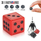 HD 1080P Mini Hidden Dice Spy Camera Dash Cam IR Night Vision DVR Home Security