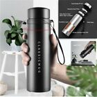 Insulated Water Bottle Tea Infuser Travel Vacuum Flask Stainless Steel Thermos