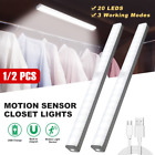 Wireless Under Cabinet Lighting LED Motion Sensor Battery Operated Closet Night