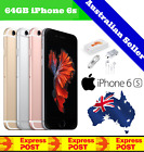 (new & Sealed In Box) Apple Iphone 6s | Factory Unlocked | Space Grey 16gb 64gb