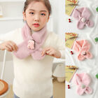 Baby Scarf Cartoon Winter Warm Plush Thick Neckerchief Children Girls Boys