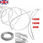 Galvanized Steel NATO Concertina Razor Fencing Wire Barbed Helical Roll Security