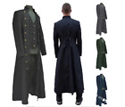Medieval Long Coat Halloween Cosplay Costume Renaissance Style Vintage Jacket