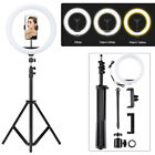 12inch LED Selfie Ring Light with Tripod Stand Phone Holder Kit for Live Makeup