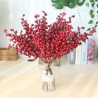 Year Home Decor Party Artificial Flower Fake Flower Berry Christmas Decoration
