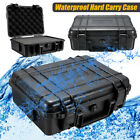 Waterproof Hard Carry Protective Tool Case Shockproof Storage Box w/ Sponge US