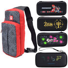 For Nintendo Switch Carrying Case Mario Zelda Game Console Travel Storage Bag UK