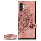 For Samsung Galaxy Note 8 9 10+ Plus Leather Wallet Stand Phone Case Back Cover