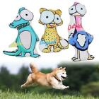 Cute Plush Dog Puppy Play Pet Funny Chew Squeaker Toy Squeaky Sound Toys New