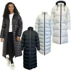 Womens Padded Jacket By Brave Soul CELLOMAX Hooded Coat Puffer Quilted Zip Up