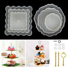3 Tiers Fruit Dish Resin Silicone Coaster Epoxy Mold Casting Stand Agate DIY Art