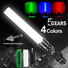 5 Modes Multifunctional 4 in1 Zoom RGBW Four light Source Signal Bar Flashlight