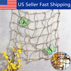 Parrot Birds Climbing Ladder Play Net Jungle Fever Rope Cockatiel Animal Toy S