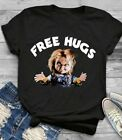 CHUCKY CHILDS PLAY FREE HUGS SHIRT, unisex shirt, gift ideas