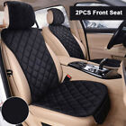 US Auto Car Seat Cover Set Seat Cushion Pad Front Rear Chair Mat Set Protector