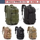 30L Outdoor Tactical Backpack Army Assault DayPack Hiking Trekking Camping Bag