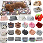 Pet Dog Cat Puppy Winter Warm Mattress Calming Bed Mat Crate Kennel Blanket UK