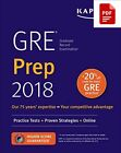 GRE Prep 2018: Practice Tests + Proven Strategies