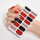 14 Full Cover Nail Stickers Wraps DIY Manicure Nail Art Decoration 14SET
