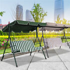 """66*45""""/77*43"""" Garden Swing Top Cover Anti-UV Replacement for Canopy Porch"""