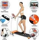 Mauccau Folding Treadmill for Home, Electric Treadmills w/LCD Display Exercise+