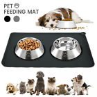 Pets Puppy Silicone Waterproof Feeding Food Mat Dog Cat Non Slip Bowl Placemat