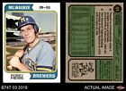 1974 Topps #51 Bob Heise Brewers 7 - NM