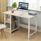 Home Office Computer Desk Student Working Study Writing PC Table with Book...