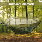 USA Double Outdoor Person Travel Camping Hanging Hammock Bed Mosquito Net
