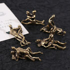 Mini Vintage Brass Sexy Ornament Craft Figurines For Home Bar Party Desk Decor
