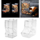 Small Pets Automatic Hamster Feeder Food Dispenser Bowl Guinea Pig Pigeon