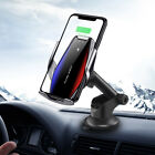 15W Qi Wireless Automatic Clamping Sensor Car Phone Holder Fast Charger Mount