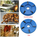 Wood Carving Tea Tray Polishing Disc Milling Cutter Angle Grinder Repair Tool US