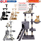 Large Multilevel Cat Tree Scratching Post Kitten Climbing Tower Activity Centre