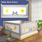 Children Baby Bed Fence Safety Gate Barrier Crib Rail Security Playpen Guardrail