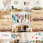 Art Vinyl Family DIY Removable Quote Word Wall Sticker Mural Home Decor