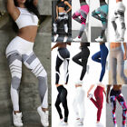 Womens Yoga Shaper Legging Pants Sports Gym Jogger Casual Trousers Activewear