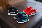 KIDS BABY INFANTS TRAINERS SHOES BOYS GIRLS SPORT RUNNING TODDLER SHOCK AIR SIZE
