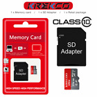 Micro Memory SD Card 64GB 128GB 256GB Class10 Flash TF Card UHS-I with Adapter