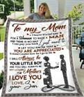 Happy Mother's Day from Son I Will Always Be Your Little Boy Fleece Blanket