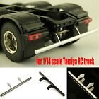 Metal Rear Bumper Rc Car Modification Parts For 1/14 Tamiya Rc Truck Accessories