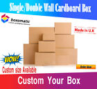 NEW SINGLE & DOUBLE WALL CARDBOARD POSTAL BOXES CARTONS