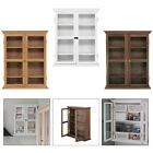 1:6 Wooden Doll House Wall Cabinet Furniture Miniature Room Office Ornament