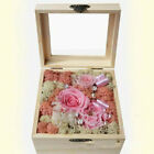 Unfinished Wood Box - Wooden Treasure Boxes with Locking Clasp, for Party