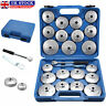 More images of 23 Cup Type Oil Filter Wrench Set Socket Tool Automotive Removal Garage Kit Tool