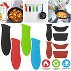 Silicone Pot Holder Cast Iron Hot Skillet Handle Cover Potholder Fry Pan Sleeve