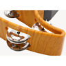 More images of 11.8 Oz / 335 G Tambourine Drum 20 (10 Pairs) Double Hand Bell Half Moon Metal New
